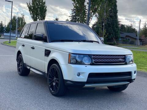 2012 Land Rover Range Rover Sport for sale at Lux Motors in Tacoma WA