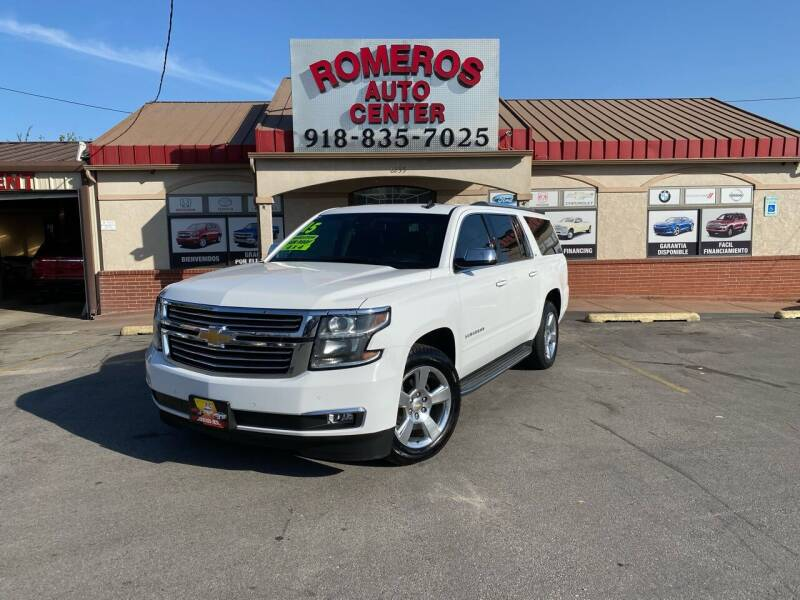 2015 Chevrolet Suburban for sale at Romeros Auto Center in Tulsa OK