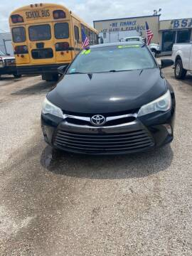 2016 Toyota Camry for sale at BSA Used Cars in Pasadena TX