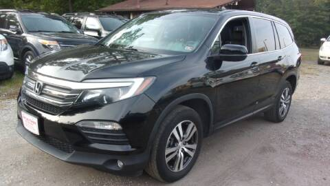 2016 Honda Pilot for sale at Select Cars Of Thornburg in Fredericksburg VA