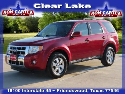 2011 Ford Escape for sale at Ron Carter  Clear Lake Used Cars in Houston TX