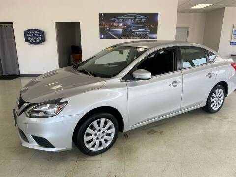 2016 Nissan Sentra for sale at Used Car Outlet in Bloomington IL