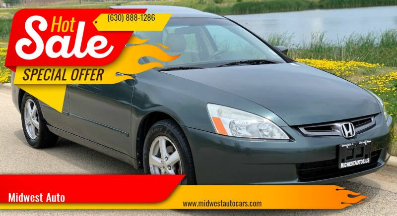 2004 Honda Accord for sale at Midwest Auto in Naperville IL