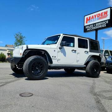 2007 Jeep Wrangler Unlimited for sale at Hayden Cars in Coeur D Alene ID