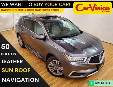 2017 Acura MDX for sale at Car Vision Mitsubishi Norristown - Car Vision Philly Used Car SuperStore in Philadelphia PA