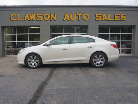 2013 Buick LaCrosse for sale at Clawson Auto Sales in Clawson MI