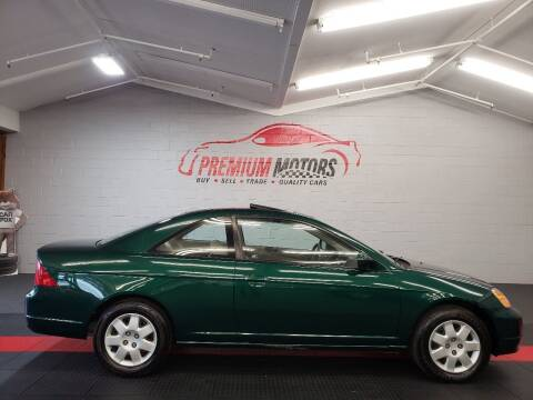 2001 Honda Civic for sale at Premium Motors in Villa Park IL