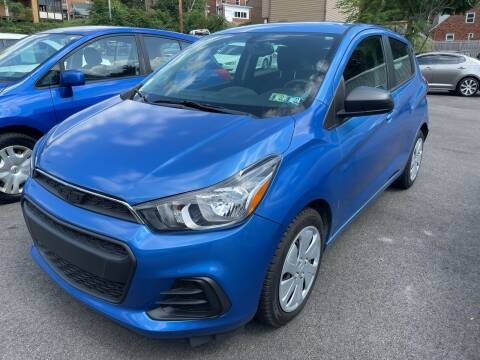 2018 Chevrolet Spark for sale at Fellini Auto Sales & Service LLC in Pittsburgh PA