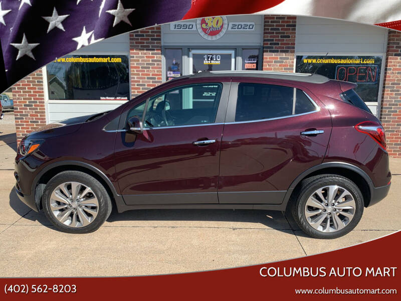 2018 Buick Encore for sale at Columbus Auto Mart in Columbus NE