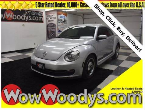 2012 Volkswagen Beetle for sale at WOODY'S AUTOMOTIVE GROUP in Chillicothe MO