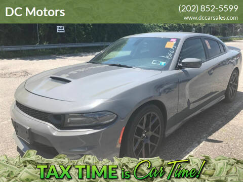 2019 Dodge Charger for sale at DC Motors in Springfield VA