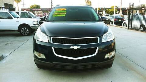 2012 Chevrolet Traverse for sale at El Guero Auto Sale in Hawthorne CA