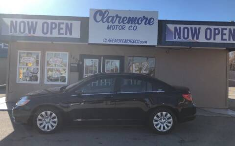 2013 Chrysler 200 for sale at Claremore Motor Company in Claremore OK
