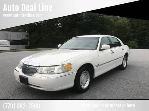 2000 Lincoln Town Car for sale at Auto Deal Line in Alpharetta GA