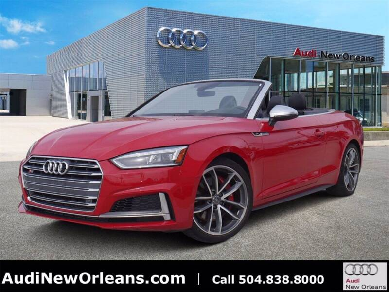 2018 Audi S5 for sale at Metairie Preowned Superstore in Metairie LA