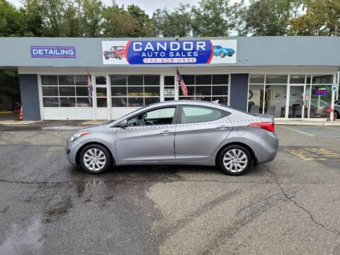 2013 Hyundai Elantra for sale at CANDOR INC in Toms River NJ