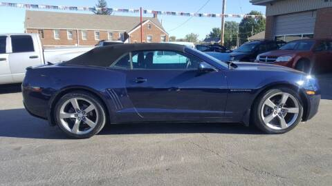 2011 Chevrolet Camaro for sale at Savannah Motors in Belleville IL