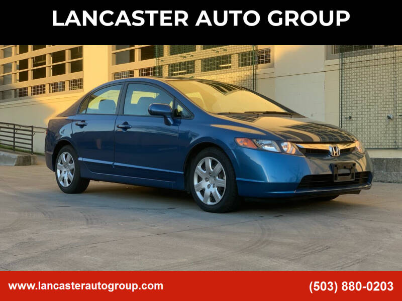 2006 Honda Civic for sale at LANCASTER AUTO GROUP in Portland OR