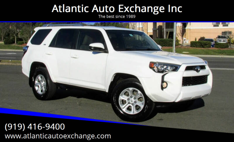 2014 Toyota 4Runner for sale at Atlantic Auto Exchange Inc in Durham NC