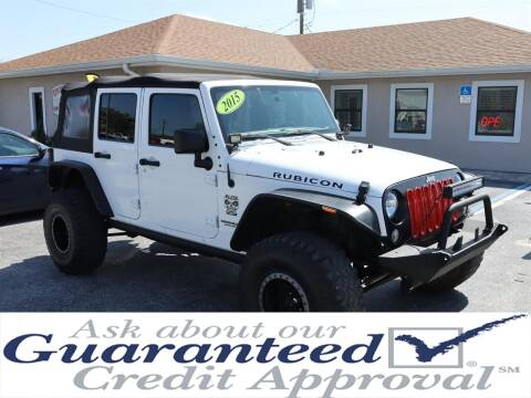 2015 Jeep Wrangler Unlimited for sale at Universal Auto Sales in Plant City FL