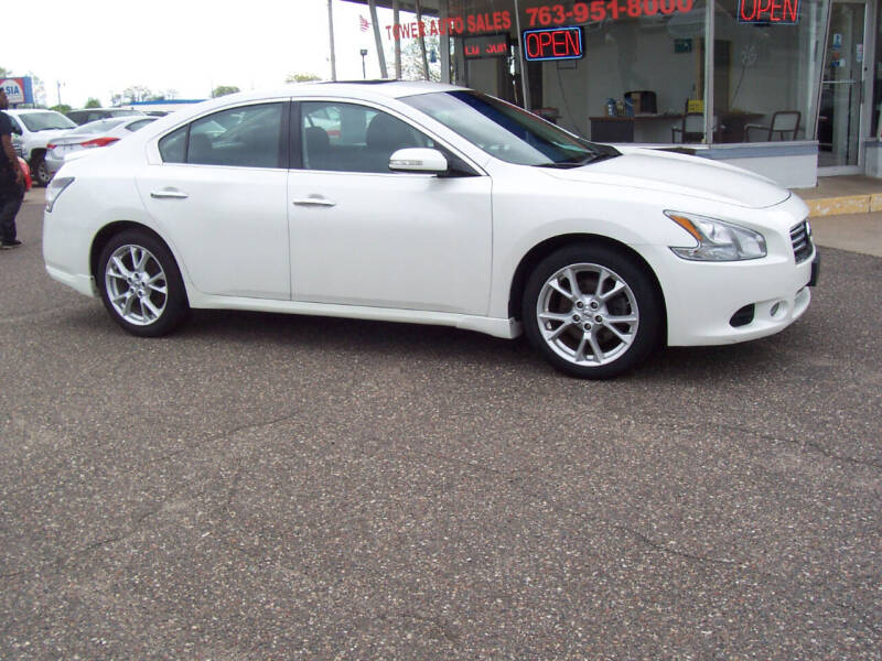 2014 Nissan Maxima for sale at TOWER AUTO MART in Minneapolis MN