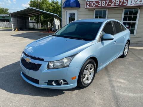 2012 Chevrolet Cruze for sale at Silver Auto Partners in San Antonio TX