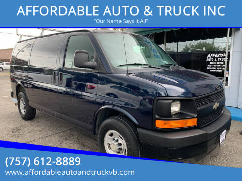 2011 Chevrolet Express Cargo for sale at AFFORDABLE AUTO & TRUCK INC in Virginia Beach VA