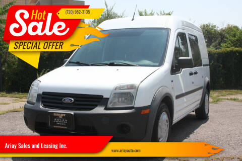 2013 Ford Transit Connect for sale at Ariay Sales and Leasing Inc. - Pre Owned Storage Lot in Glendale CO