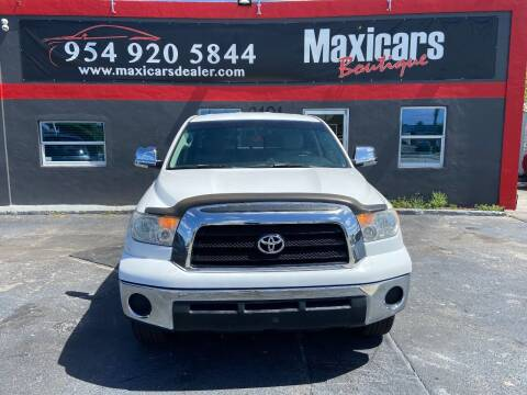 2009 Toyota Tundra for sale at Maxicars Auto Sales in West Park FL