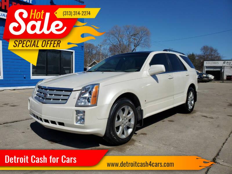 2006 Cadillac SRX for sale at Detroit Cash for Cars in Warren MI