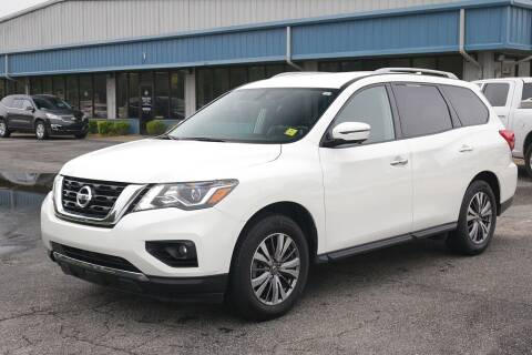 2020 Nissan Pathfinder for sale at STRICKLAND AUTO GROUP INC in Ahoskie NC
