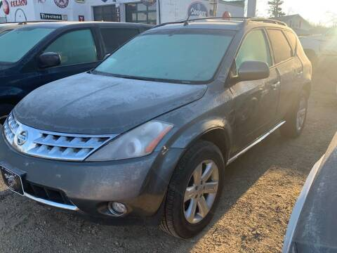 2007 Nissan Murano for sale at Nelson's Straightline Auto - 23923 Burrows Rd in Independence WI