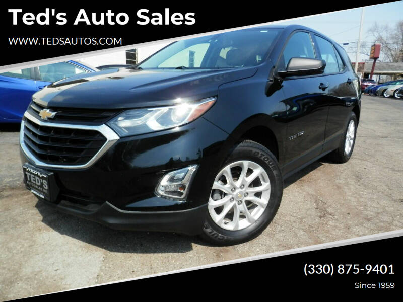 2018 Chevrolet Equinox for sale at Ted's Auto Sales in Louisville OH