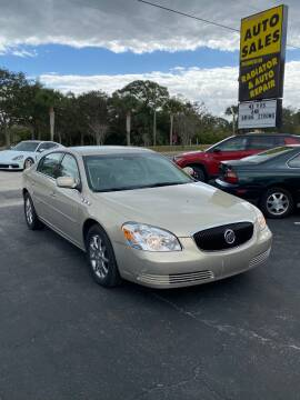 2007 Buick Lucerne for sale at DUNEDIN AUTO SALES INC in Dunedin FL