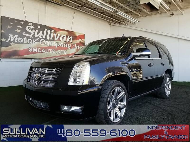 2013 Cadillac Escalade for sale at SULLIVAN MOTOR COMPANY INC. in Mesa AZ