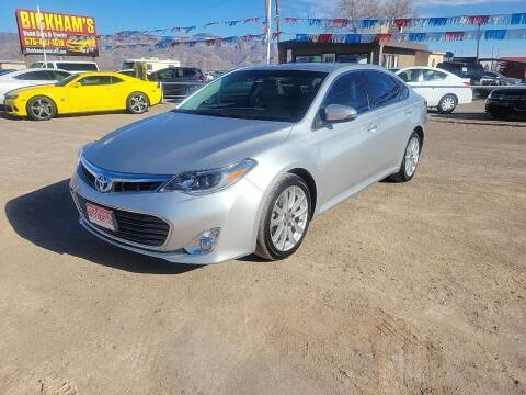 2013 Toyota Avalon for sale at Bickham Used Cars in Alamogordo NM