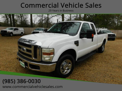 2009 Ford F-250 Super Duty for sale at Commercial Vehicle Sales in Ponchatoula LA
