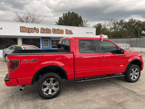 2012 Ford F-150 for sale at Moye's Auto Sales Inc. in Leesburg FL