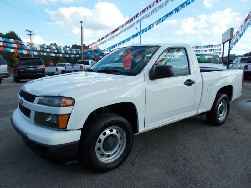 2012 Chevrolet Colorado for sale at Culpepper Auto Sales in Cullman AL