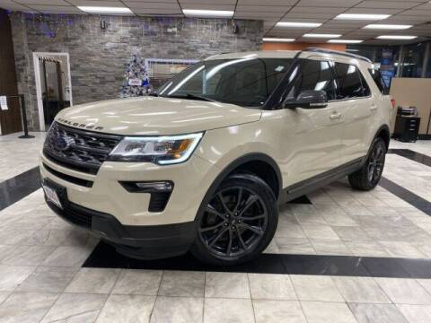2018 Ford Explorer for sale at Sonias Auto Sales in Worcester MA
