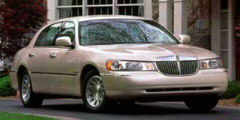 1999 Lincoln Town Car for sale at Suburban Chevrolet in Claremore OK