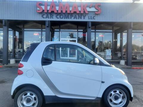 2012 Smart fortwo for sale at Siamak's Car Company llc in Salem OR