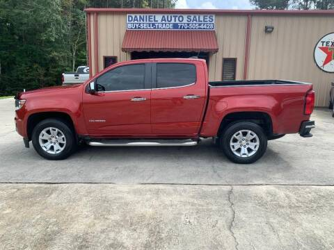 2015 Chevrolet Colorado for sale at Daniel Used Auto Sales in Dallas GA