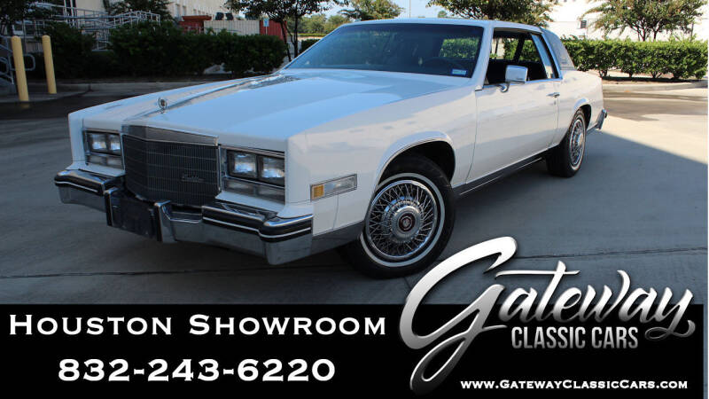 1985 Cadillac Eldorado for sale in Houston, TX
