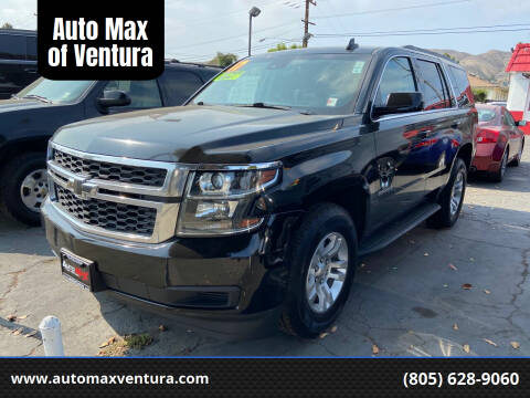 2017 Chevrolet Tahoe for sale at Auto Max of Ventura in Ventura CA