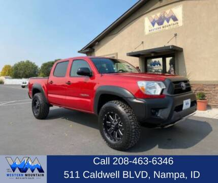 2014 Toyota Tacoma for sale at Western Mountain Bus & Auto Sales in Nampa ID