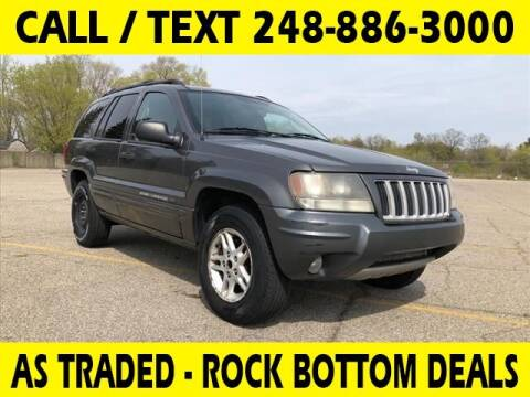 2004 Jeep Grand Cherokee for sale at Lasco of Waterford in Waterford MI
