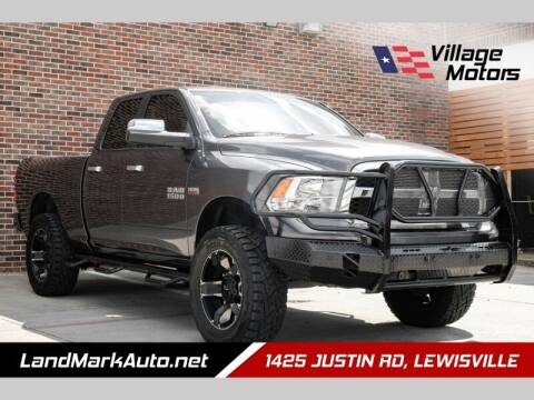 2014 RAM Ram Pickup 1500 for sale at Village Motors in Lewisville TX