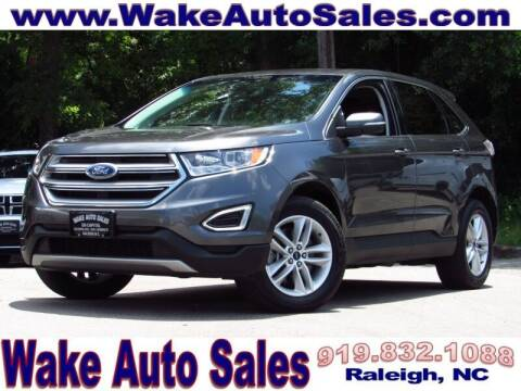 2018 Ford Edge for sale at Wake Auto Sales Inc in Raleigh NC