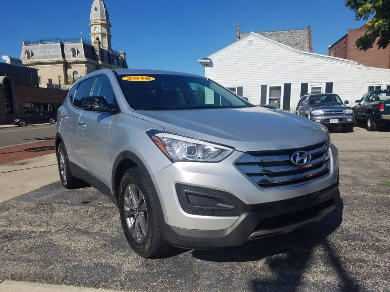 2016 Hyundai Santa Fe Sport for sale at BELLEFONTAINE MOTOR SALES in Bellefontaine OH